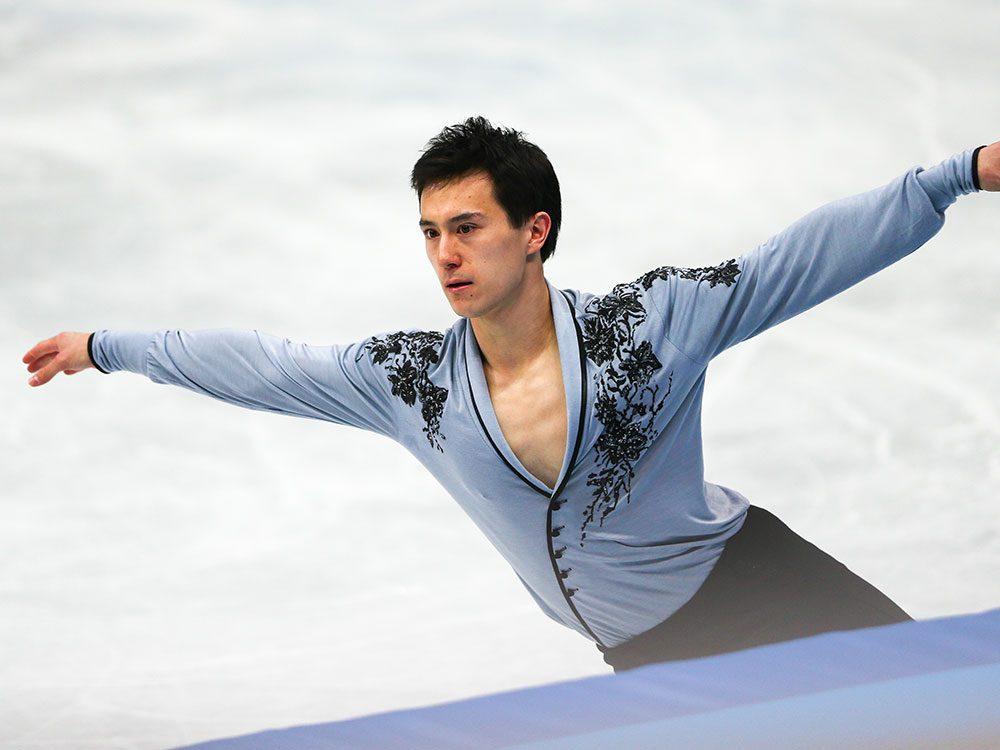 Canadian figure skater Patrick Chan