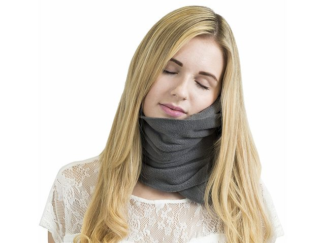 Best Travel Accessories: Trtl neck pillow