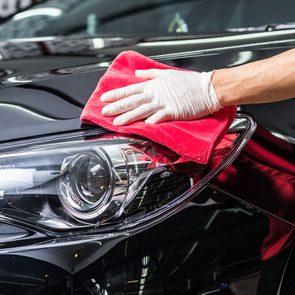 Car cleaning accessories: Car wax kit