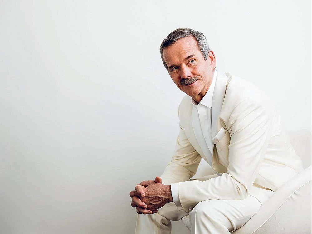 Chris Hadfield in conversation with Reader's Digest Canada