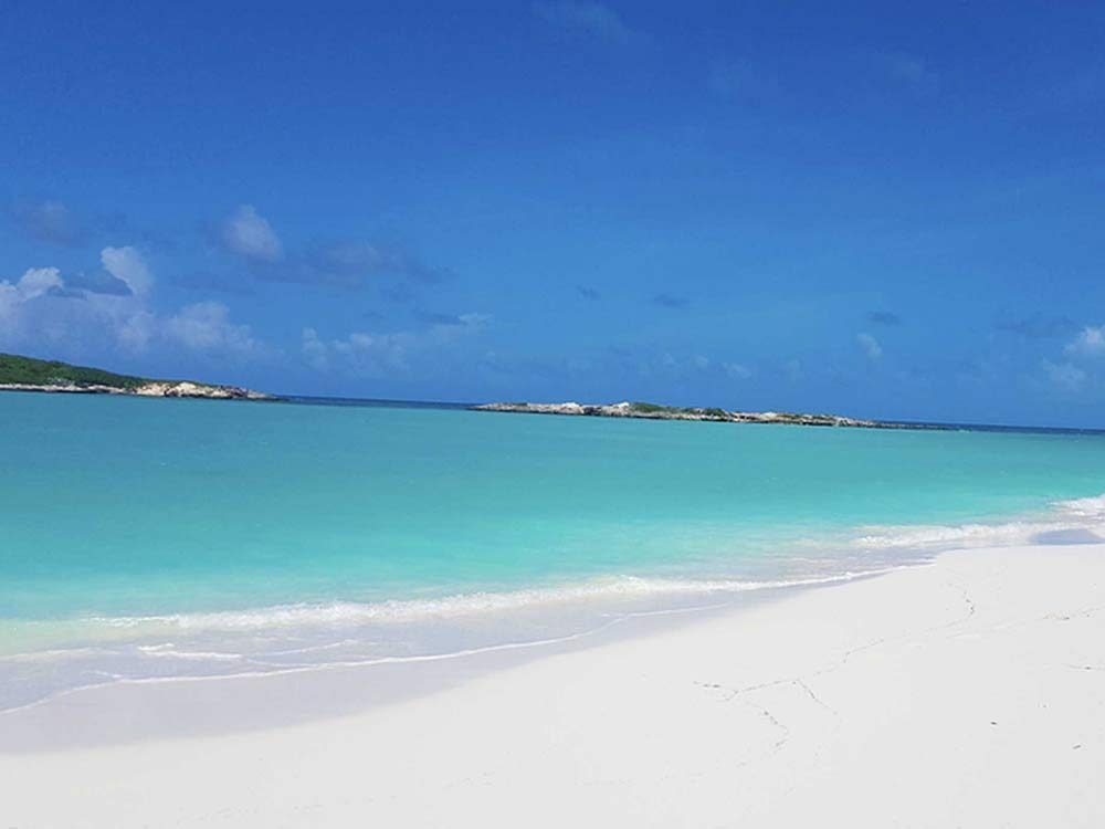 Tropic of Cancer Beach in the Bahamas