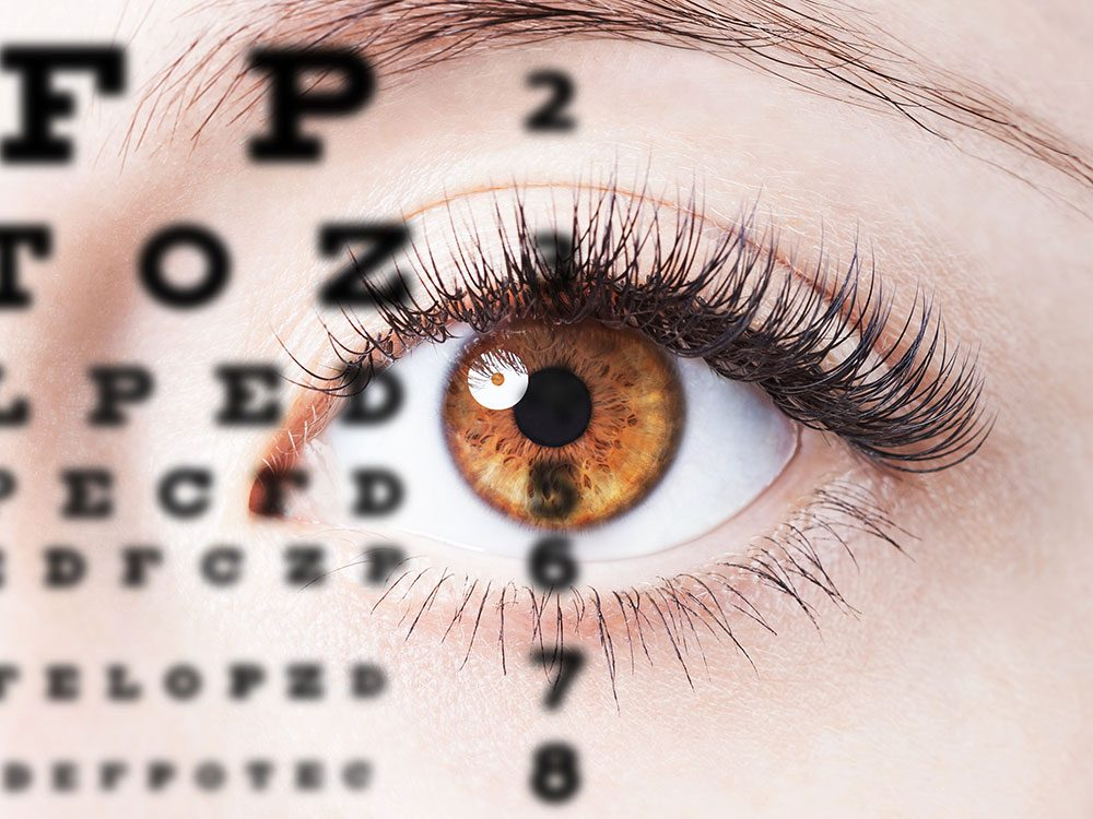 Diabetes symptoms affect eye health