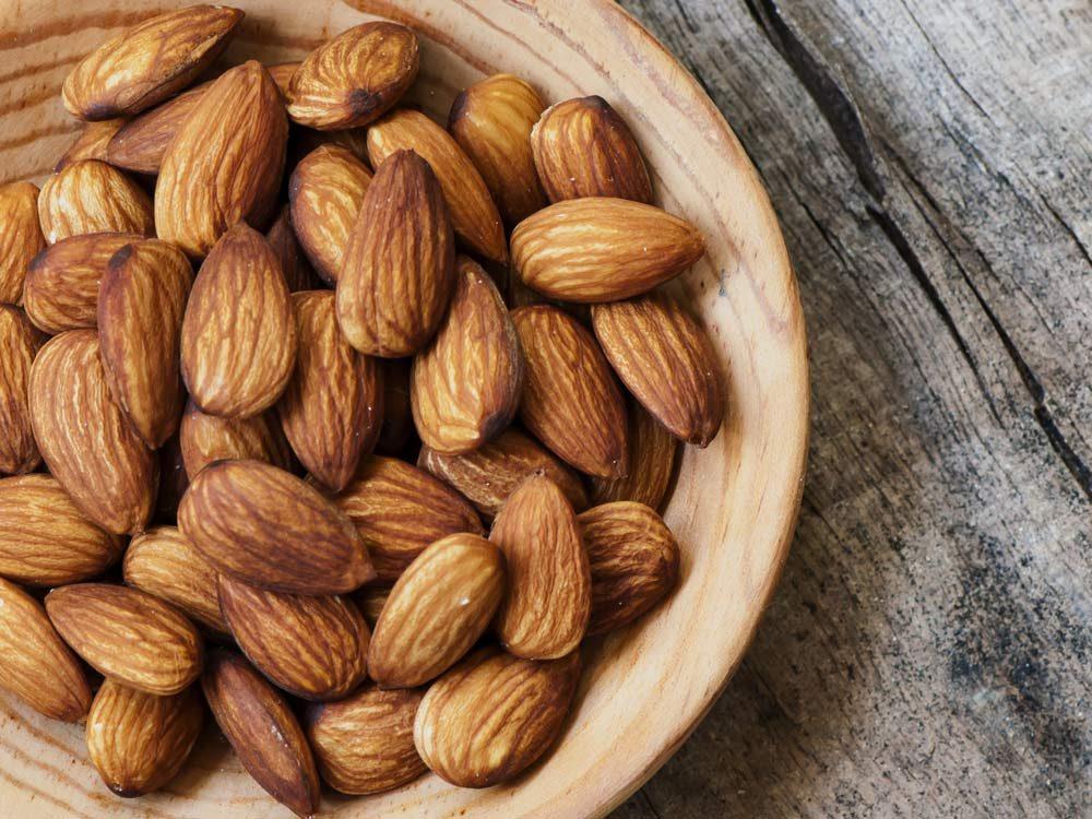 Healthy nut snack