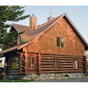 Beautiful log cabin