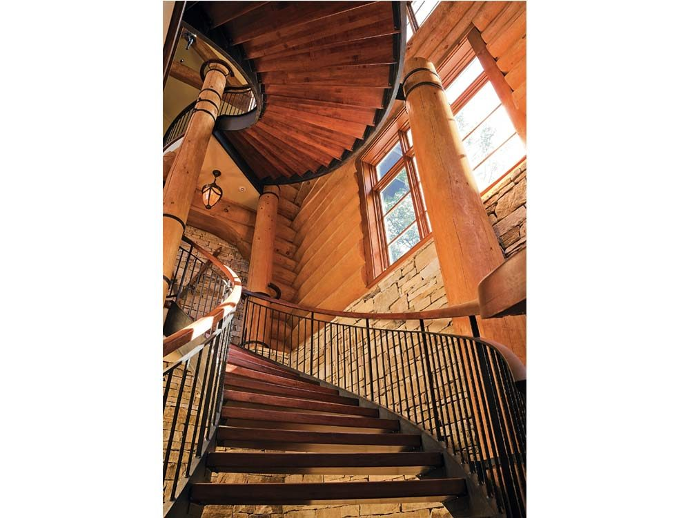 Luxurious grand staircase