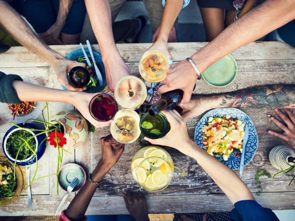 Lunch between friends