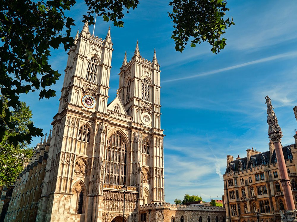 Princess Diana's funeral was at Westminster Abbey