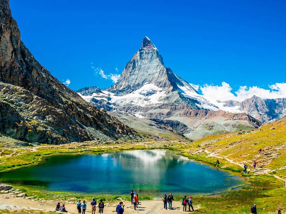 Mountain in Switzerland