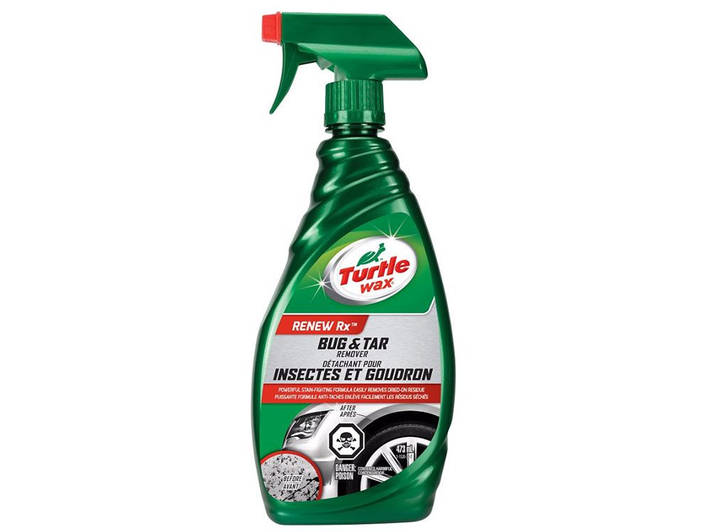 Car cleaning accessories: Turtle Wax bug and tar remover