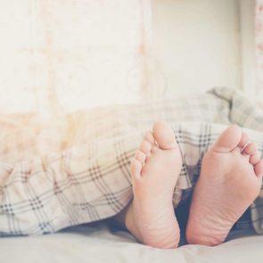 Why we sleep under blankets