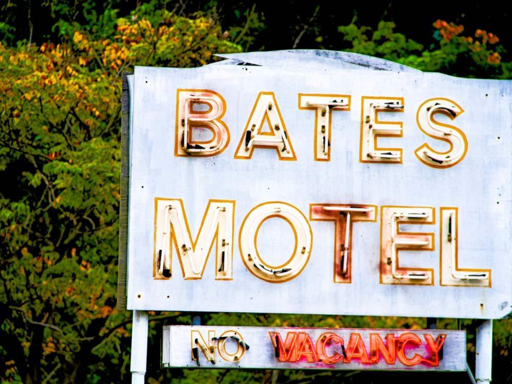 Bates Motel set at Universal Studios