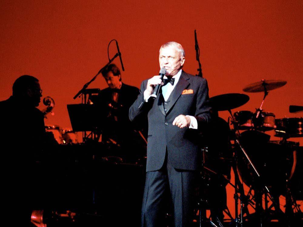 Frank Sinatra in concert