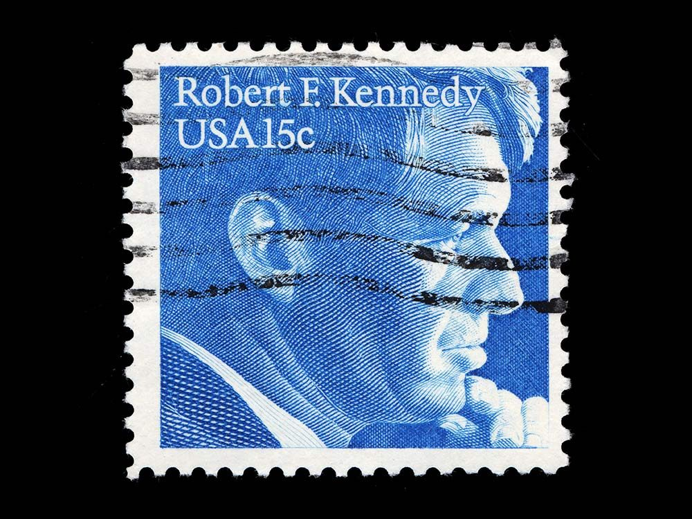 Robert F. Kennedy postage stamp