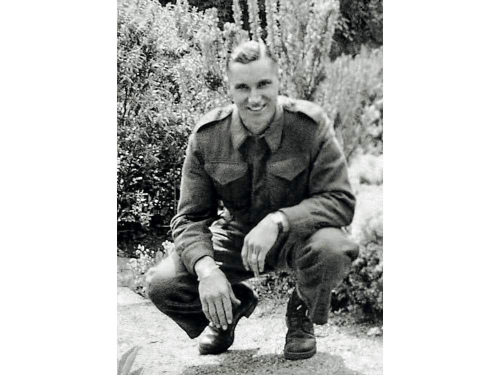 Old photograph of Private Kenneth Donald Duncanson