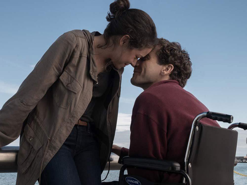 Tatiana Maslany and Jake Gyllenhaal in Stronger