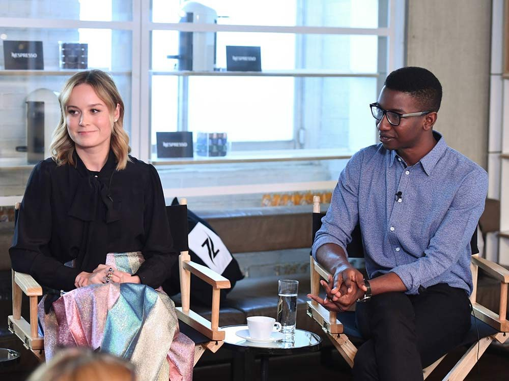 Brie Larson and Mamoudou Athie