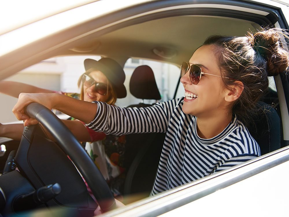 Car sharing is great for road trips