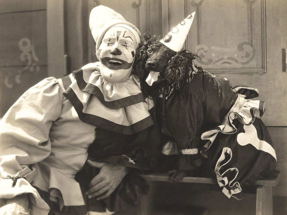 Clowns are designed to unsettle