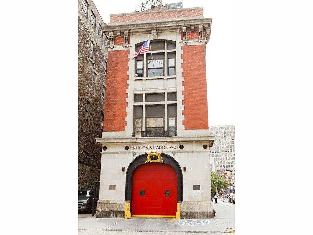 Ghostbusters fire hall, New York City