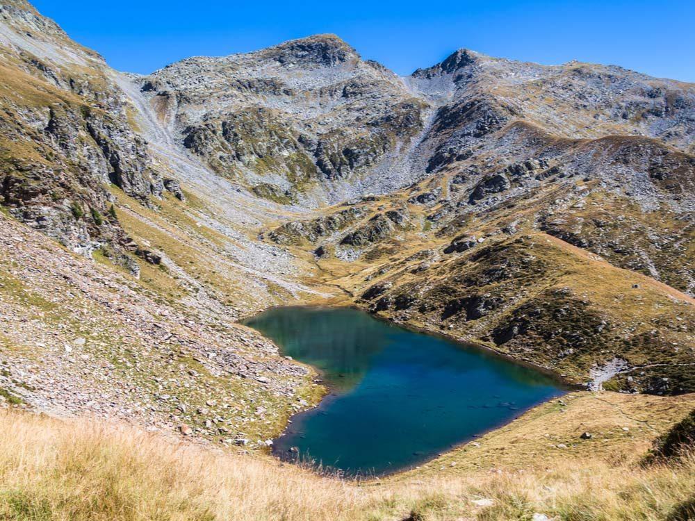 Lake Calvaresc in Switzerland