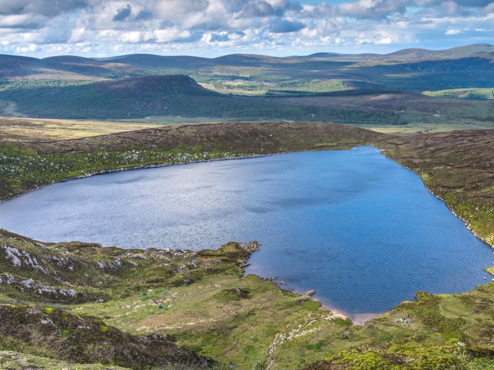 Lake Ouler in Wicklow, Ireland