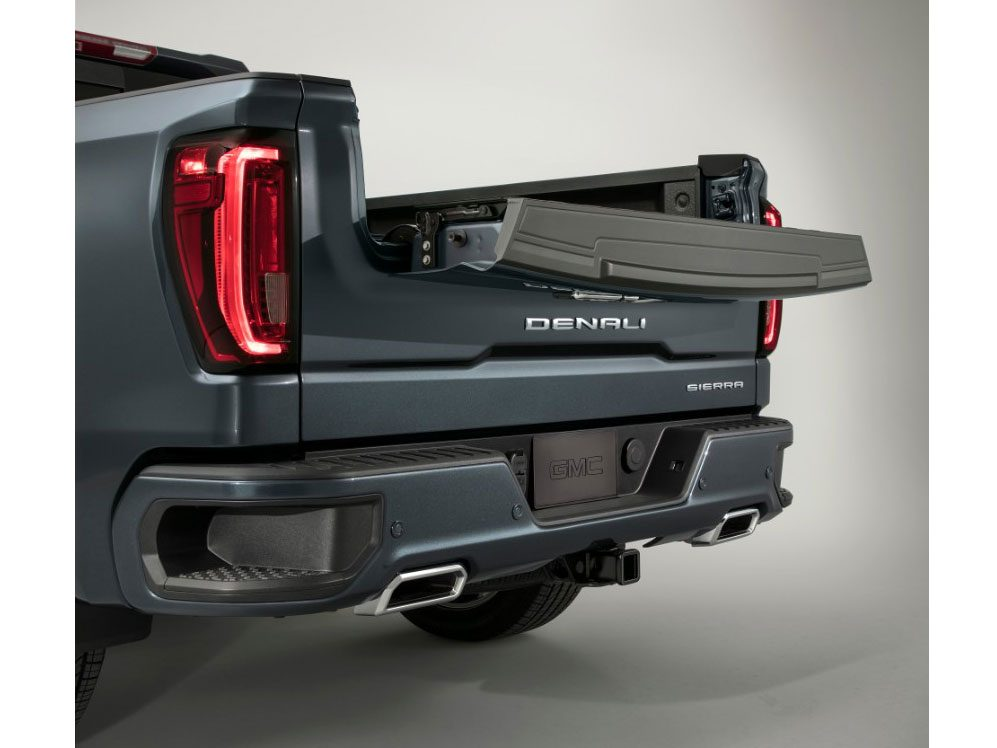 New car features: GMC MultiPro Tailgate