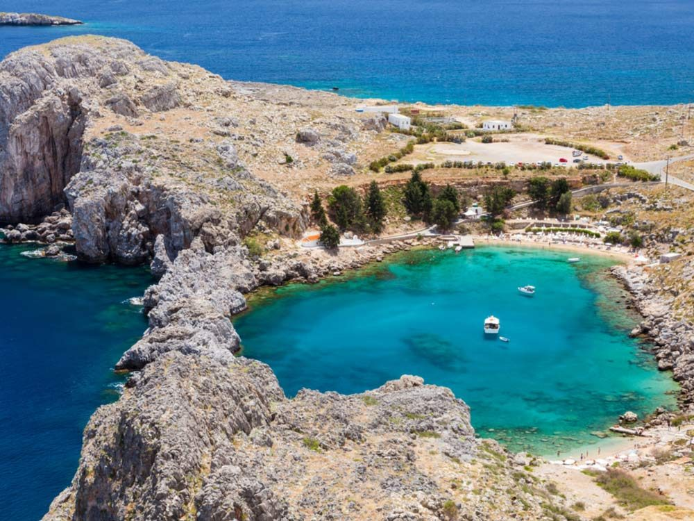 St. Paul's Bay in Greece