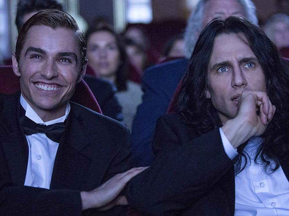 """Dave Franco and James Franco in """"The Disaster Artist"""""""
