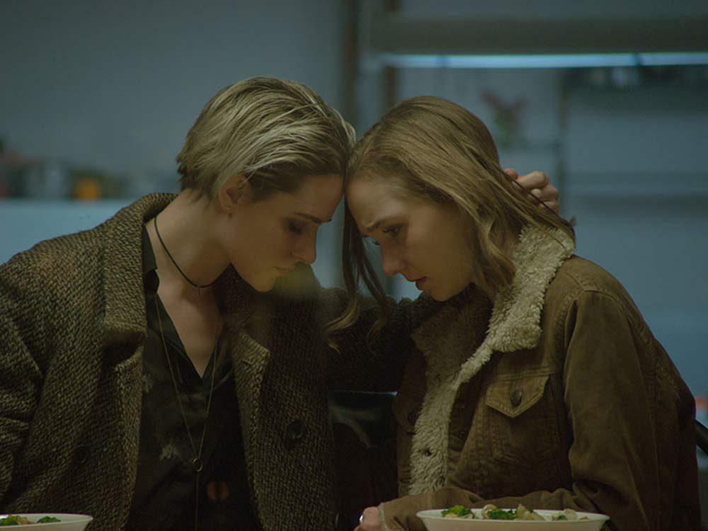 "Evan Rachel Wood and Julia Sarah Stone in ""A Worthy Companion"""