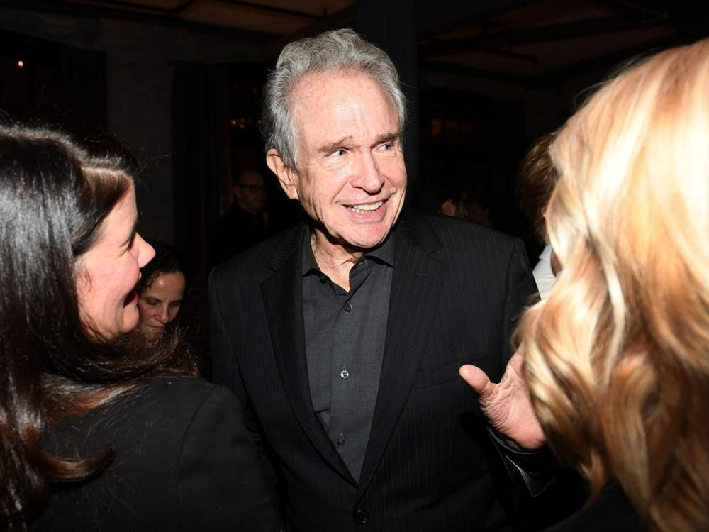 "Warren Beatty at the premiere of ""Film Stars Don't Die in Liverpool"""