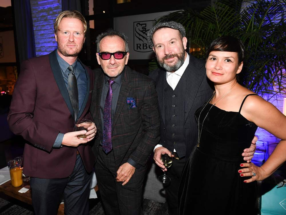 Elvis Costello and Paul McGuigan