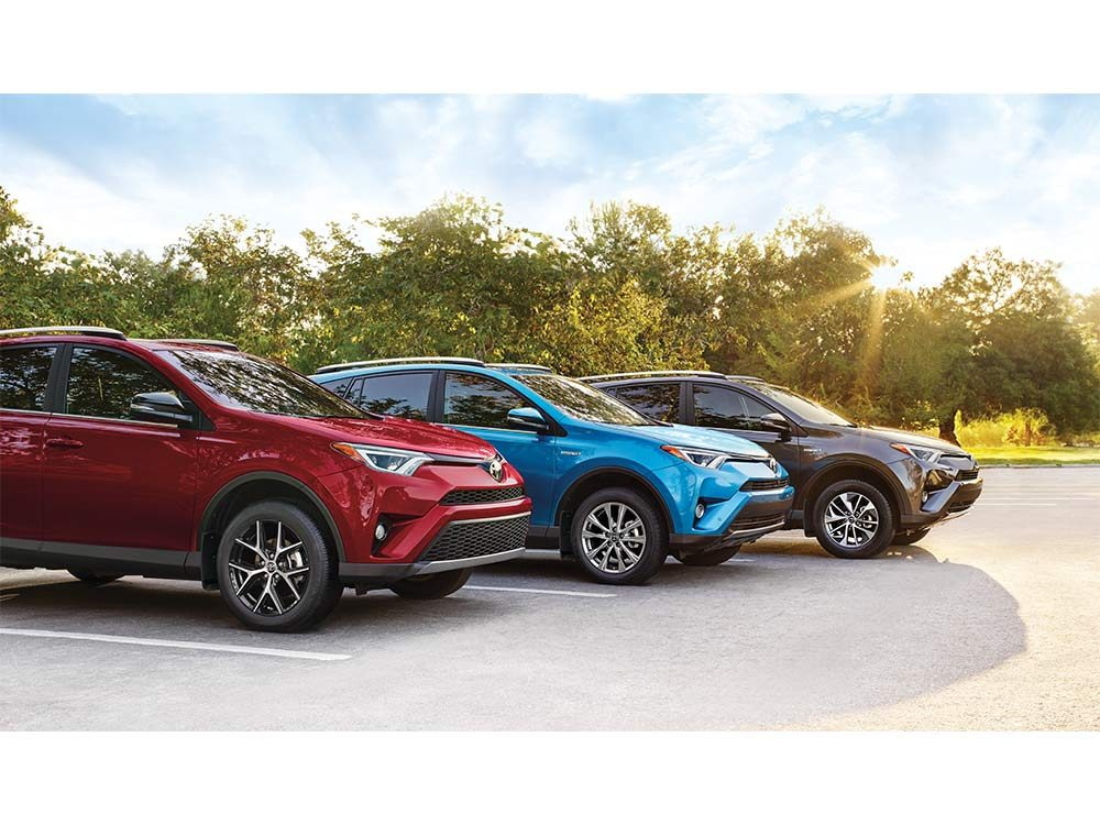 Innovative features of the Toyota RAV4