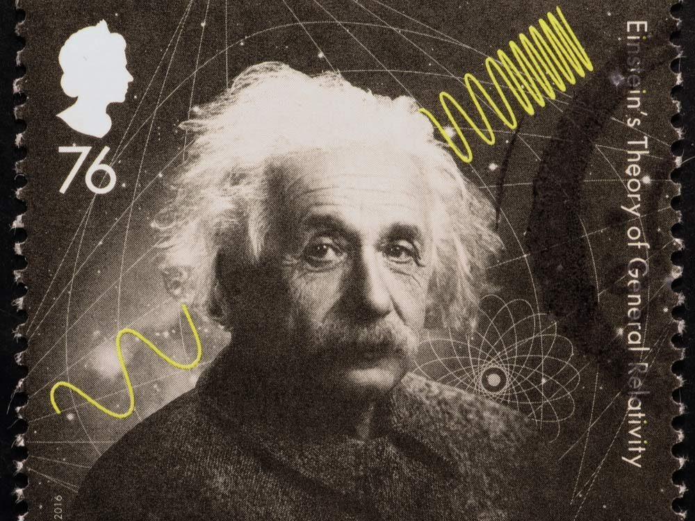 Albert Einstein postage stamp