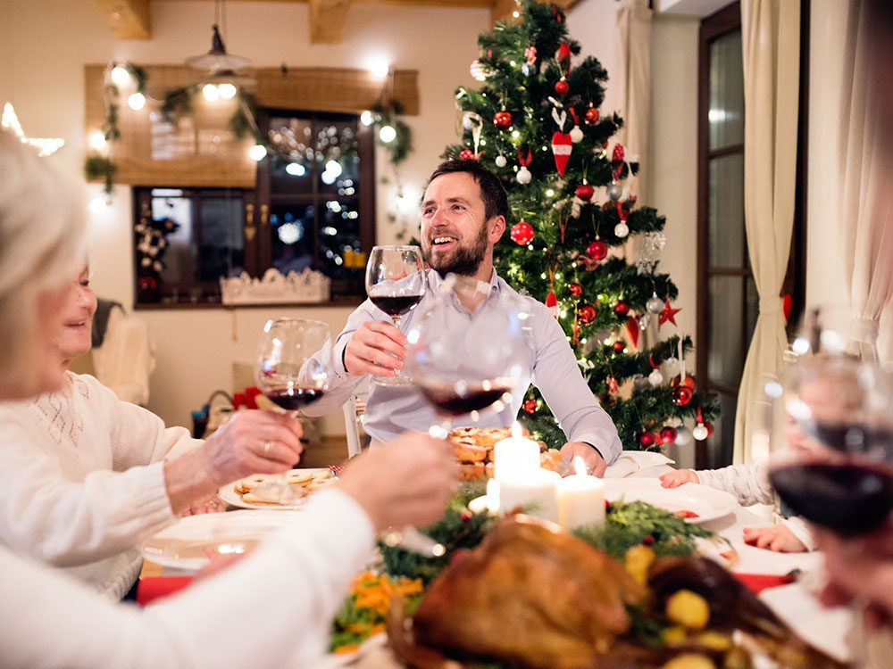 Dealing with politics at holiday dinner