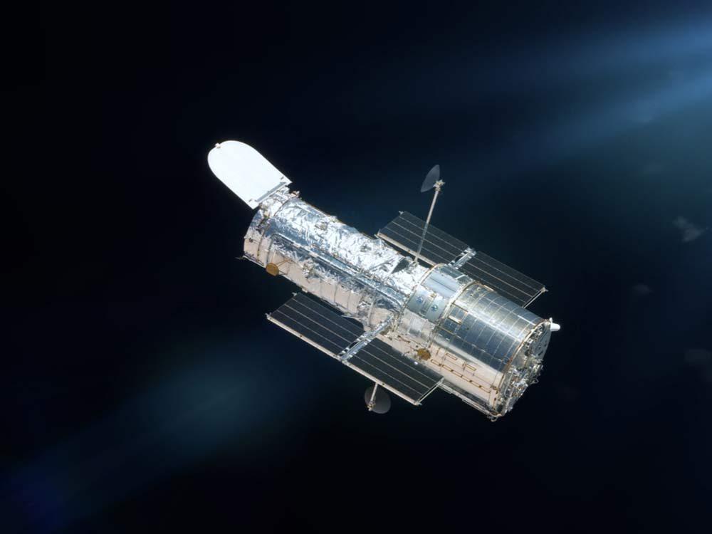 NASA probe in space