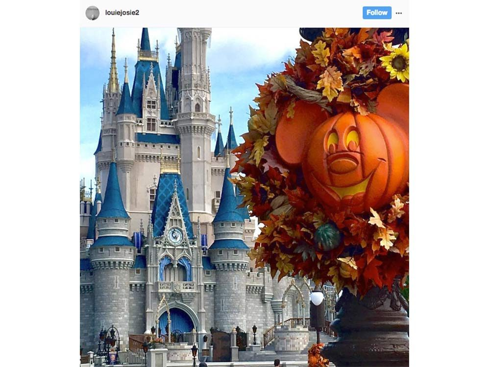 Halloween in the happiest place on Earth