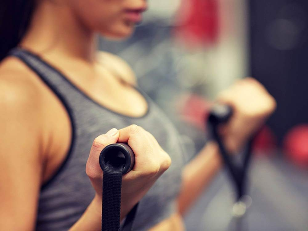 High intensity workout for anti-aging