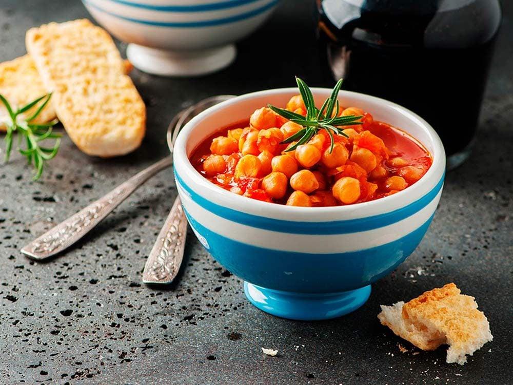 Beans chili soup