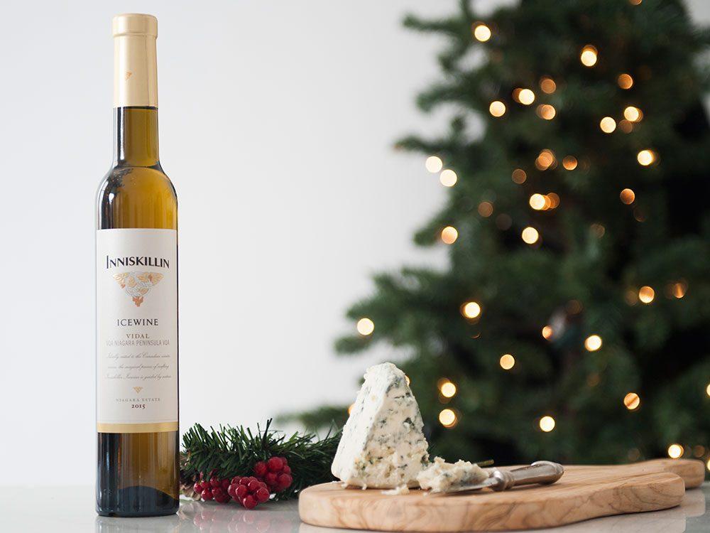 How to pair wine and cheese: Inniskillin vidal icewine