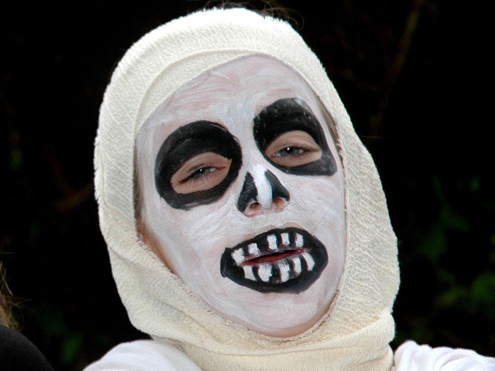 Mummy Face Paint