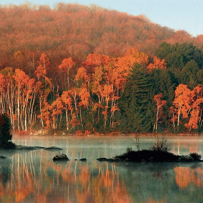 Otter Lake - best places to see fall foliage in canada