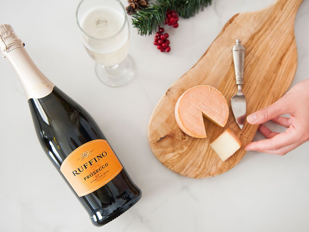 How to pair Ruffino prosecco with cheese