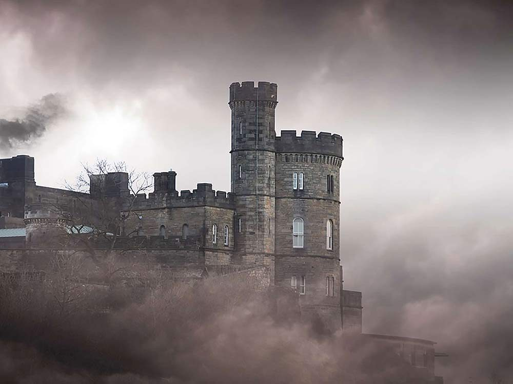 Royal ghosts in castle