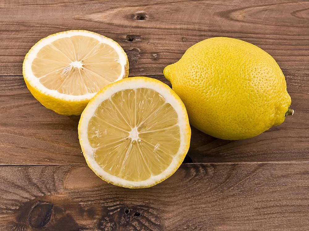 Lemon on your nightstand