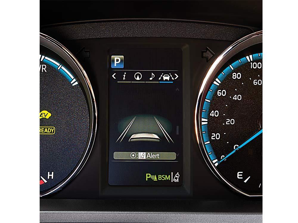 Lane departure alert of Toyota RAV4