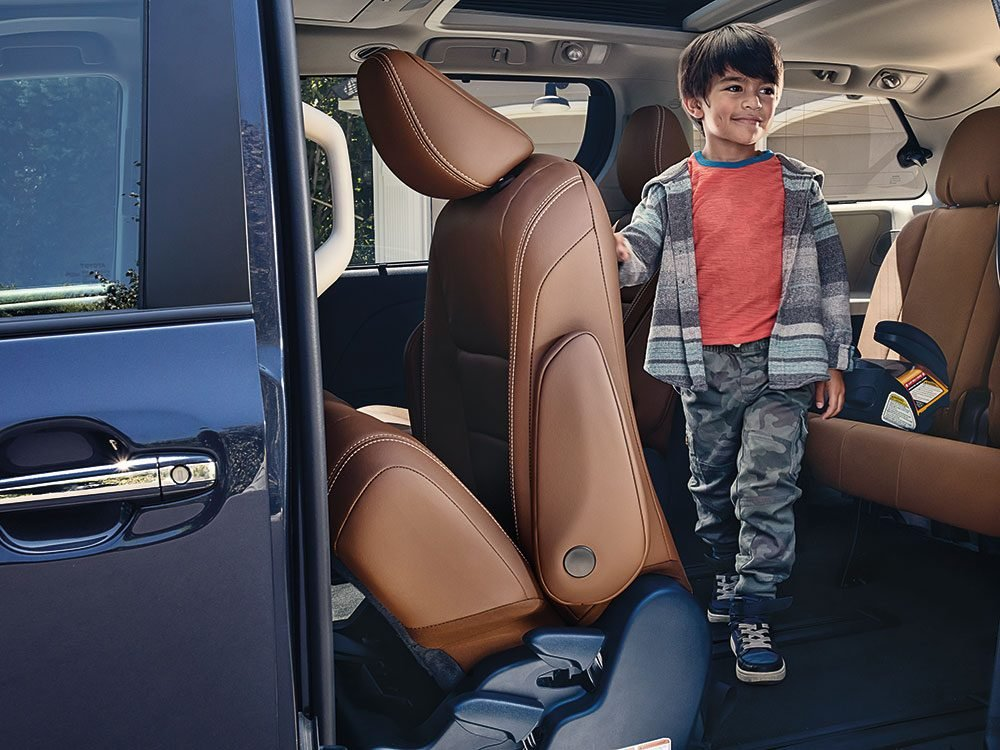 New Toyota Sienna uses the latest technology