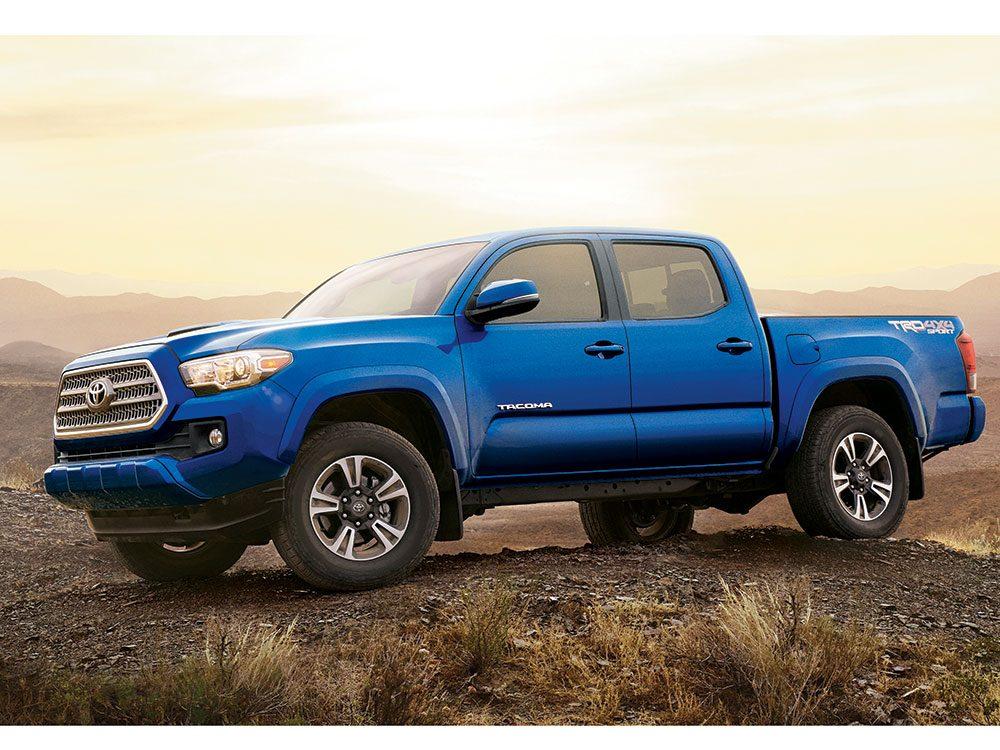 Toyota Tacoma off-road capability