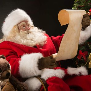 Santa Claus reading list