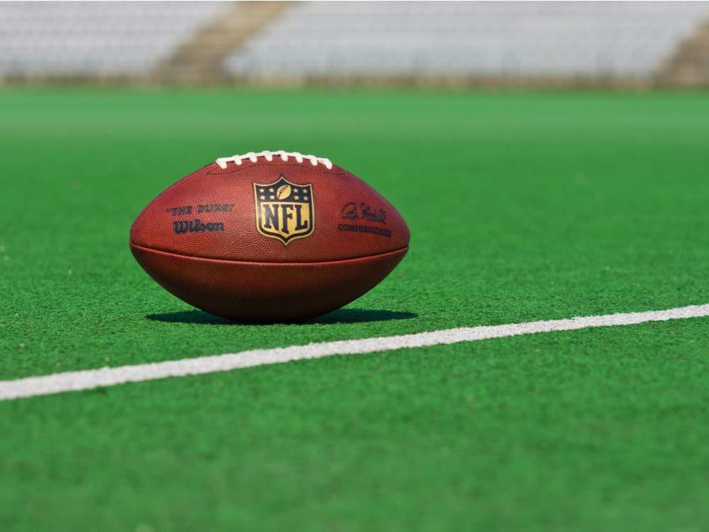 NFL game ball