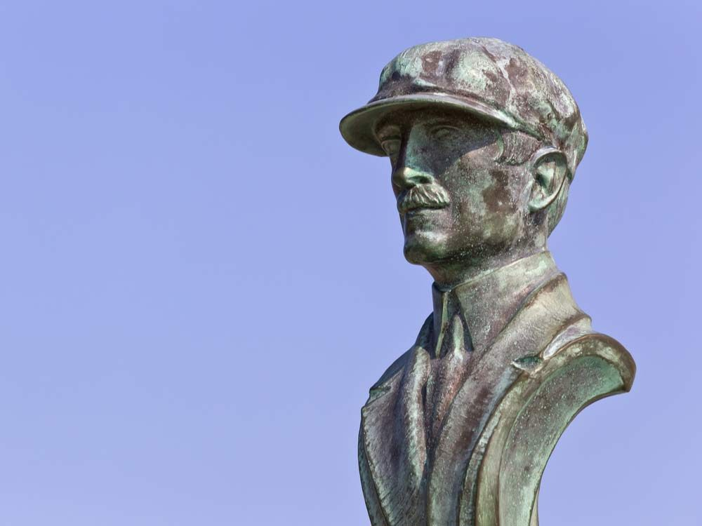 Orville Wright bust